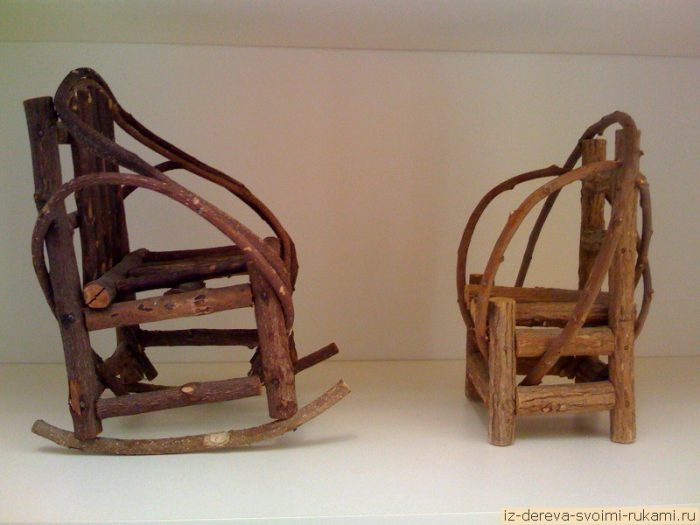 twig heart 2 chairs