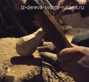как изготовить деревянную ложку