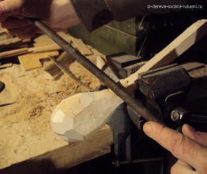 как вырезать деревянную ложку