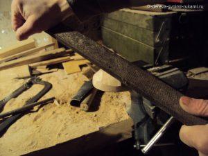 как сделать ложку из дерева