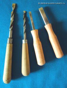 страмески для ручной резьбы по дереву