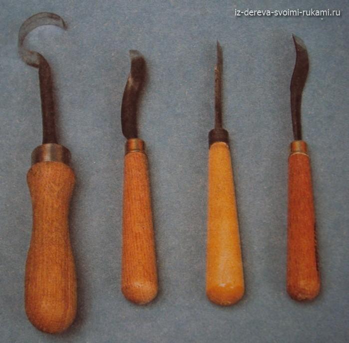Клюкарзы для резьбы по дереву, ложкарь