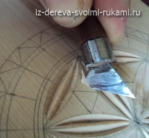 геометрическая резьба по дереву для начинающих