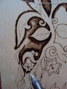 орнамент для выжигания по дереву