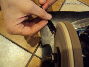заточка режущего инструмента для резьбы по дереву