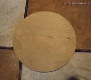 круг из фанеры
