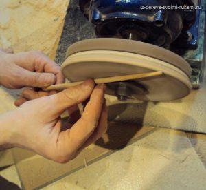 изготовление японских палочек для еды