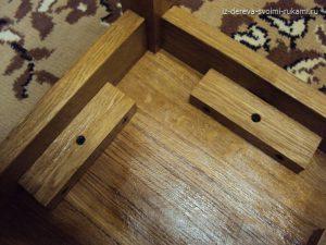 изготовление деревянной табуретки