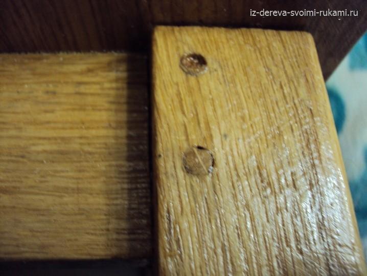 деревянная табуретка своими руками