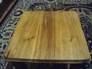 изготовление табурета из дерева