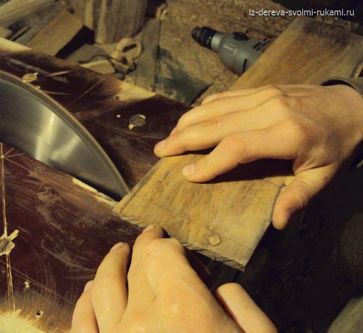 деревянный гребешок для волос изготовление