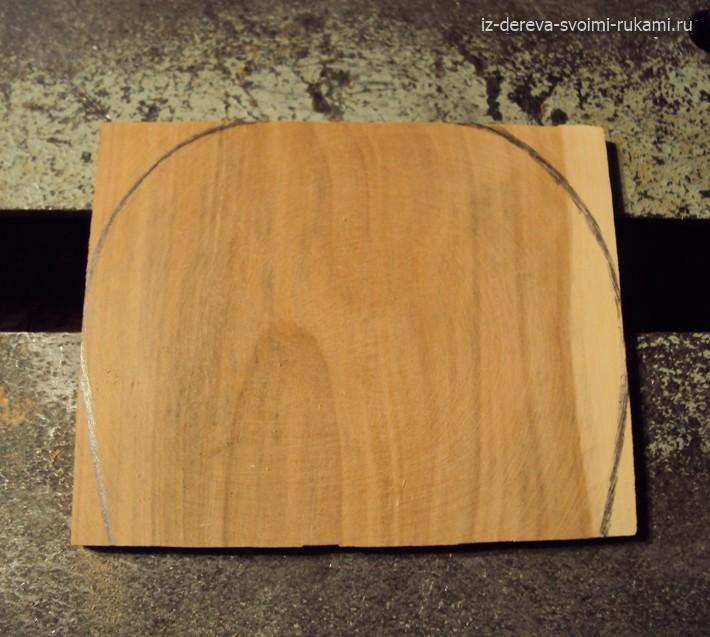 как сделать деревянный гребень для волос