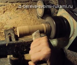 изготовление деревянной ручки для шкатулки