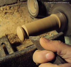 ручка мебельная деревянная изготовление