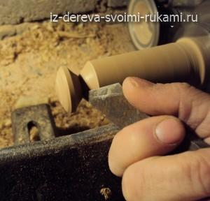 ручки деревянные для мебели,как сделать