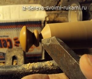 как делать деревянные ручки для мебели, шкатулок