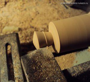 деревянные ручки для мебели, изготовление на токарном станке