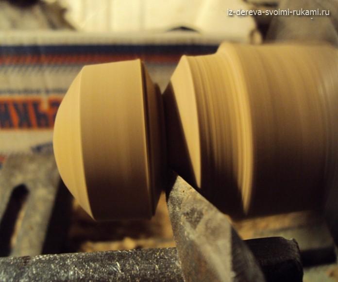 деревянная ручка круглая для мебели или шкатулок, изготовление