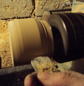 как сделать деревянную шкатулку солонку
