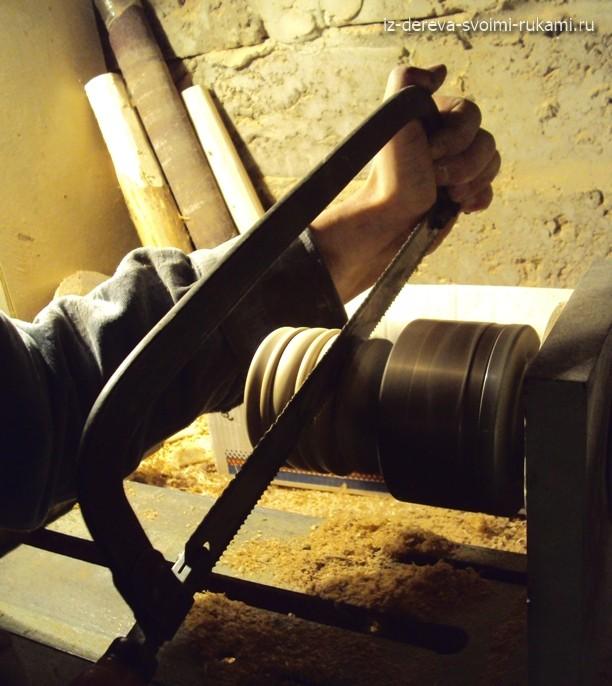 деревянная шкатулка на токарном станке, мастер-класс