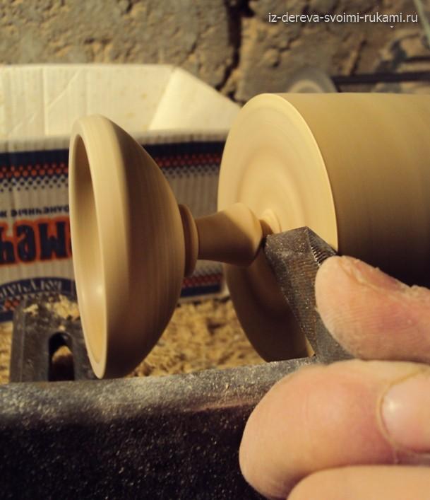 как сделать шкатулку из дерева на токарном станке