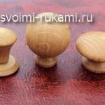 деревянные ручки для мебели,мастер-класс