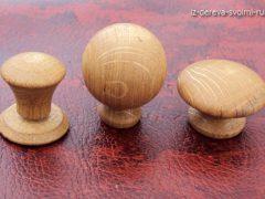 Как сделать деревянные ручки для мебели