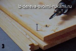 комод из дерева,изготовление