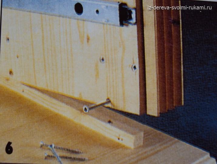 деревянный комод своими руками, мастер-класс