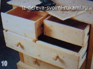 комод с ящиками своими руками