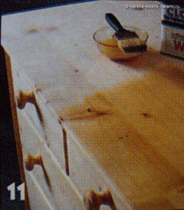 изготовление комода из дерева своими руками