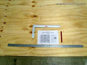 стол для дачи из фанеры своими руками