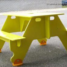 Стол со скамейками для дачи своими руками