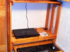 Как сделать компьютерный стол своими руками