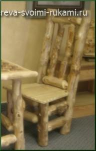 стул из дерева своими руками