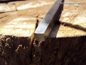 набор самодельных токарных резцов по дереву