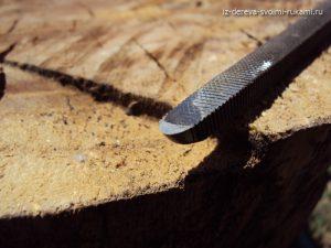 полукруглый резец для токарного станка по дереву