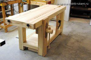 деревянный верстак своими руками