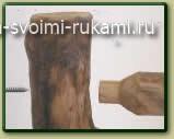 мебель из бревен своими руками соединения