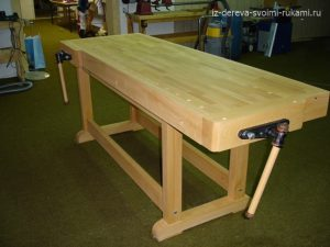профессиональный деревянный верстак своими руками
