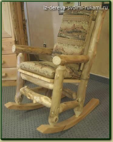 декоративная мебель из бревен своими руками