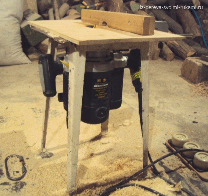 стол для ручного фрезера своими руками