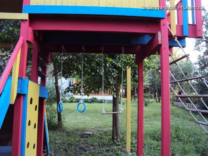спортивные снаряды для детской площадки
