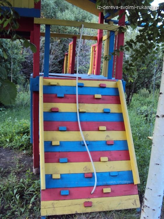 детская игровая площадка для дачи своими руками