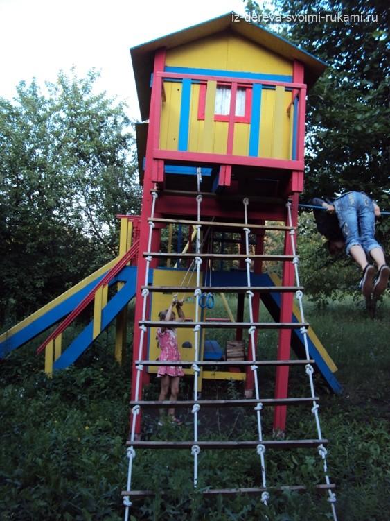 элементы детской спортивной площадки