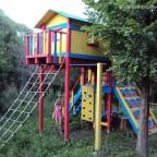 детская спортивная площадка из дерева своими руками