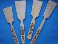 Изготовление деревянной лопатки для кухни