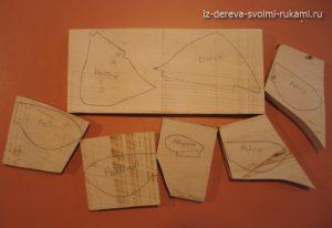 техника объемной резьбы по дереву,урок