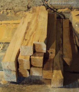 сушка и хранение древесины
