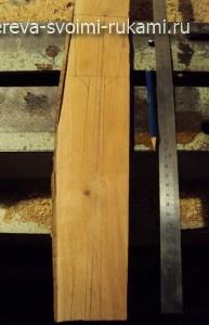 как сделать деревянную лопатку для кухни